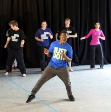 Step into Dance: Inclusive dance practice... unlocking creativity and freeing inhibitions